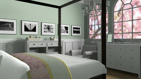 Country bedroom - Country - Bedroom  - by ec2190