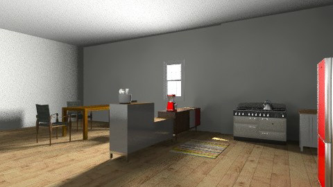 my kitchen - Eclectic - Kitchen  - by me1234