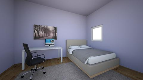 My room - Modern - Bedroom  - by Molly Masog