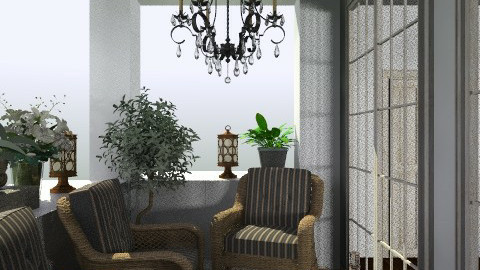 roma apt 10 - Glamour - Living room  - by jen86