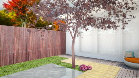 Pool Side - Modern - Garden  - by ayudewi