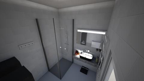 bathroom - by laszlaognes