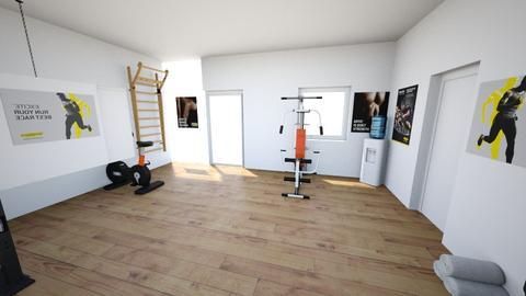 gym - by ivoryblu