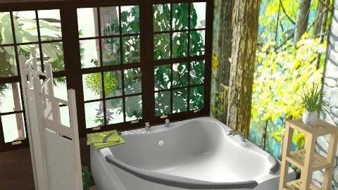 bagno purple 3 - Modern - Bathroom  - by livia87