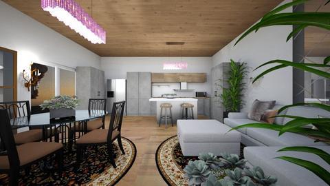 rooms  - Kitchen  - by artecoInterior