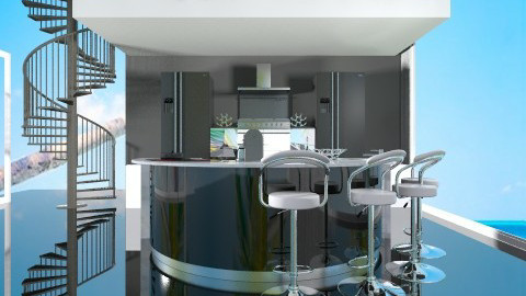 modern Kitchen - Modern - Kitchen  - by ozge123