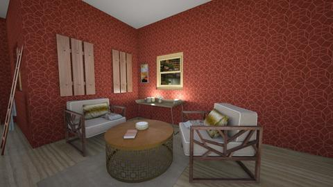 November_Autumn Pattern_L - Modern - Bedroom  - by XelleWishes