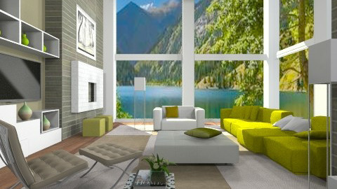 Airy Cubic - Modern - Living room  - by channing4
