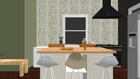 2013 Townhouse Kitchen - Minimal - Kitchen  - by kjordi