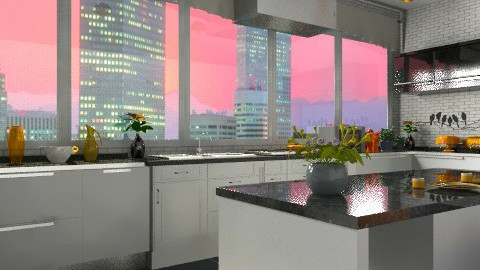 kitchen - Modern - Kitchen  - by KittiFarkas