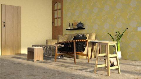 Darshan Living Room - Rustic - Living room  - by jiltsheth