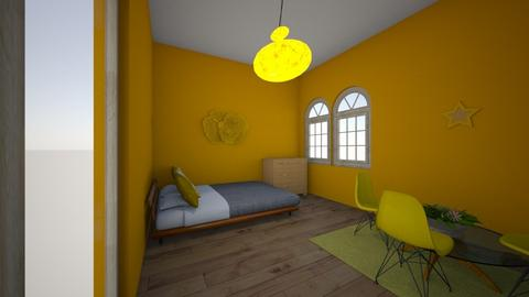 Yellow - Bedroom  - by Natalie_2021