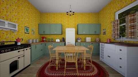 50s Kitchen - Kitchen  - by VeroDale