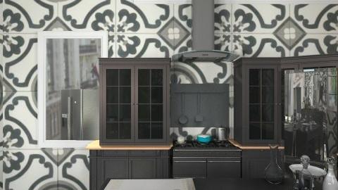 kitchen - Glamour - Kitchen  - by mcnairymadison