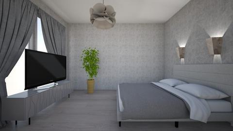 Gray Dreams - Bedroom  - by Twerka