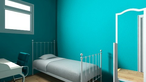 Mahlias new rooom - Vintage - Bedroom - by 10popem