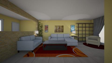 Living 3 - Living room  - by areeser