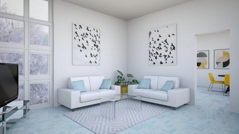Winter - Living room  - by Aristar_bucks