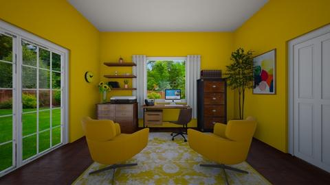 Yellow Office - Office  - by VeroDale