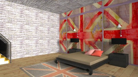British Bedroom  - Rustic - Bedroom  - by nwager247