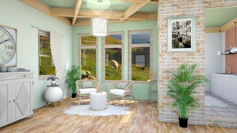 sheep inspired - Modern - Living room  - by zayneb_17