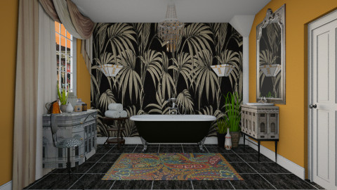 Honey Drizzle_Venice - Vintage - Bathroom  - by janip