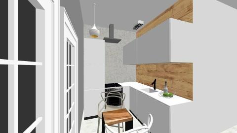 sniardwy kuchnia - Minimal - Kitchen  - by Ewa Visovska