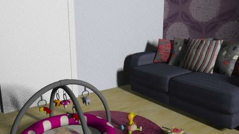 Living Room (My Flat) - Modern - Living room - by hermy_own