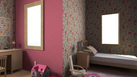 Pink  room - Modern - Kids room  - by eszti