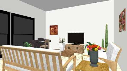 Livng Room 1 - Minimal - Living room - by deantan