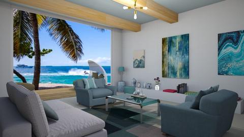 Ocean love - Global - Living room  - by emivim