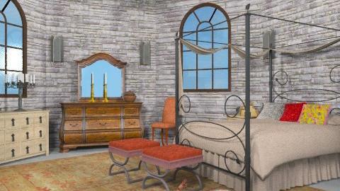 Locked in a Tower - Vintage - Bedroom  - by chloedaniella