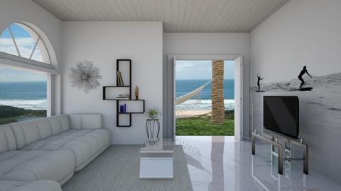Minimalist living room - Living room  - by Tupiniquim