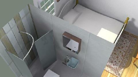 Vista Izq - Rustic - Bedroom - by analopez79