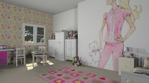 room  - Kids room  - by maryam_bella_vita