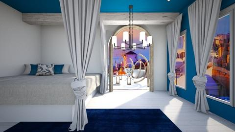 Greece room - Modern - Bedroom  - by Agamanta