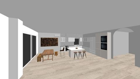 my  - Modern - Kitchen  - by AnaCatarina