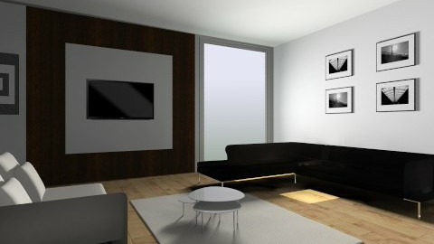 Modern - Modern - Living room - by Fatima15