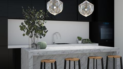 Modern Kitchen  - Modern - Kitchen  - by aestheticXdesigns