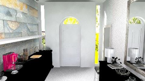 London style Kitchen - Eclectic - Kitchen  - by natiiangello