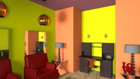 the cozy office  - Eclectic - Office  - by mydreamhouse