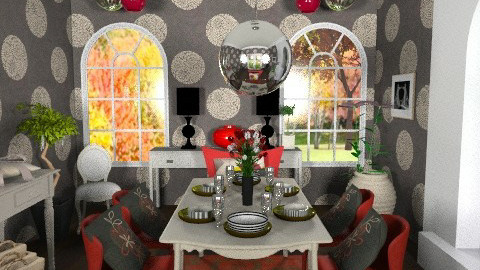 Accent Dining - Classic - Dining room - by aveneym
