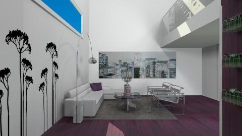 white - Minimal - Living room  - by Gabriella Aloia