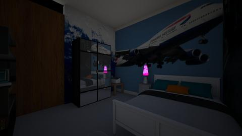 dylans  bedroom - Modern - Bedroom - by sliderbily