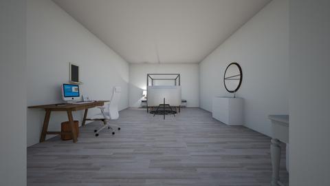 Minimalist Bedroom  - Minimal - Bedroom  - by RoniRaindrop