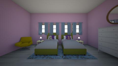 kids room  - Bedroom  - by joliehendrickson
