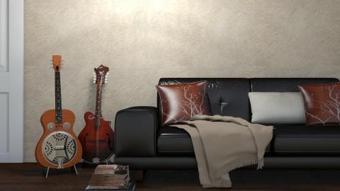 Guitars - Living room  - by Cailyn V