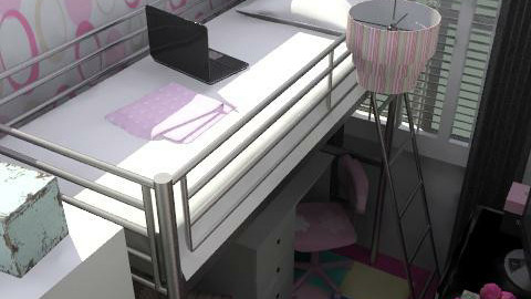 Malissa's box room - Glamour - Bedroom  - by yvonne400cc