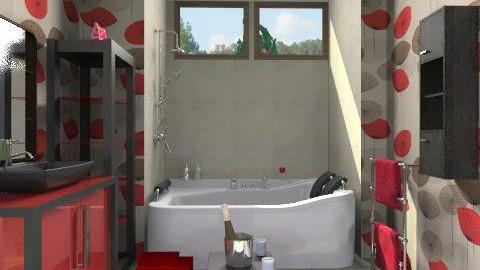 Simple pleasures  - Modern - Bathroom  - by alleypea