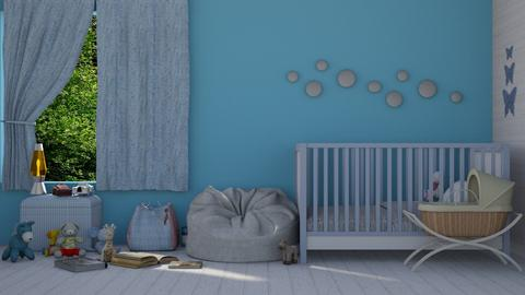 Baby Blue - Kids room  - by KittyT6